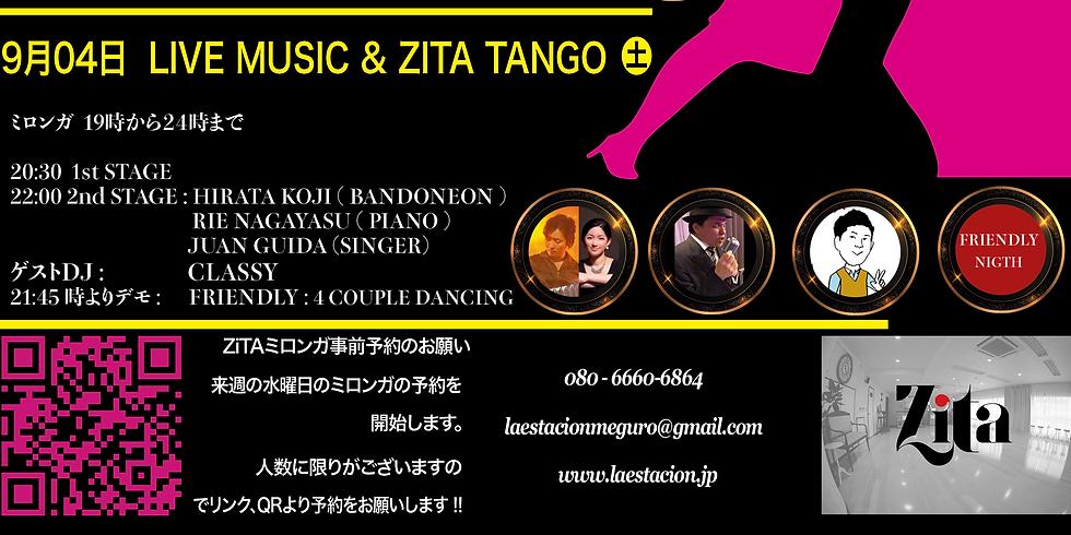 LIVE MUSIC & ZITA TANGO FRIENDS