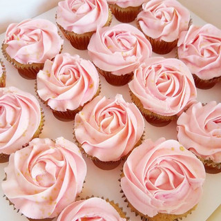 Pretty in Pink ✨_Simple pink rosette cup