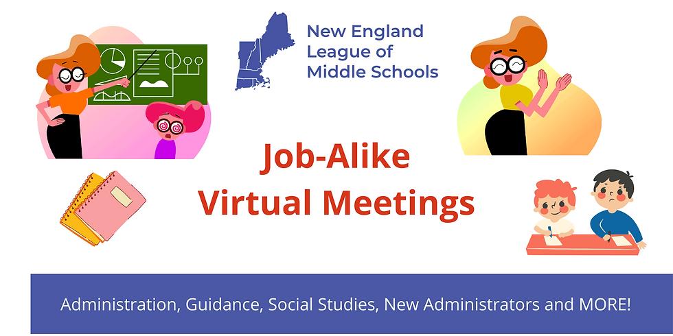 Job Alike Meeting - Administrators