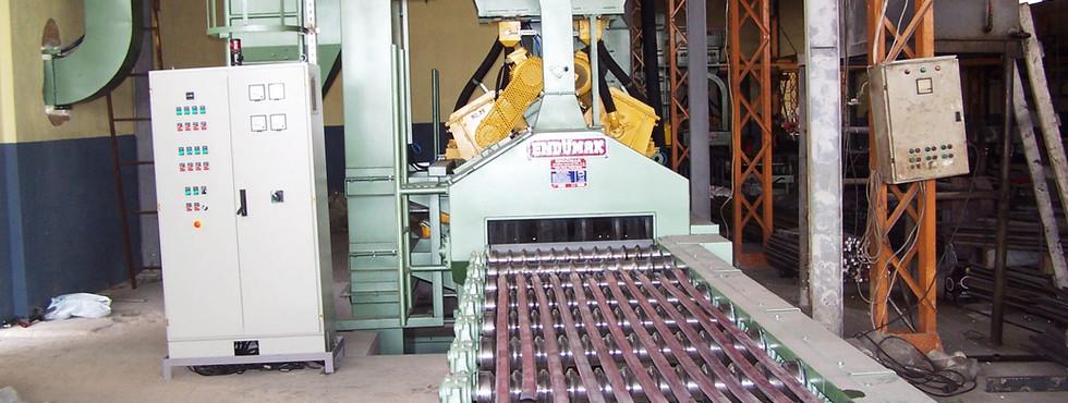 Mil ve Profil Kumlama Makinesi