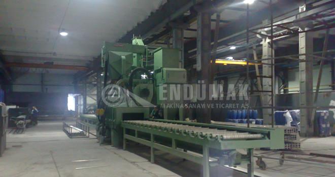 Alüminyum Profil Kumlama Makinesi