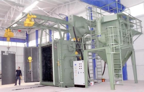 Hanger Blast Cleaning Machine