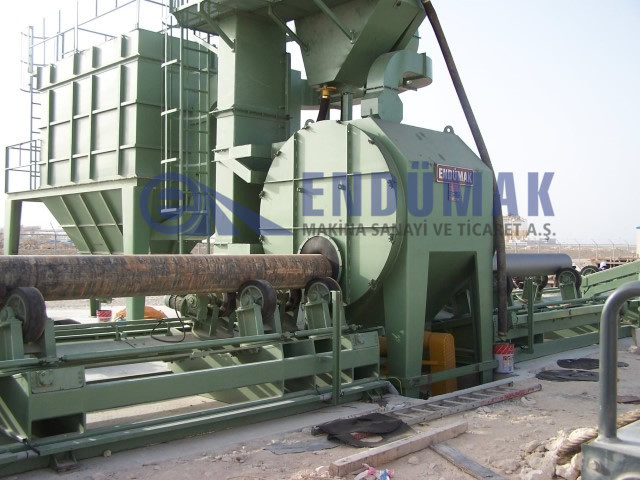 Pipe Surface Blast Cleaning Machine