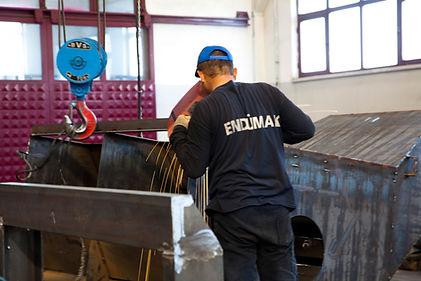 Kumlama Makinesi Üretimi