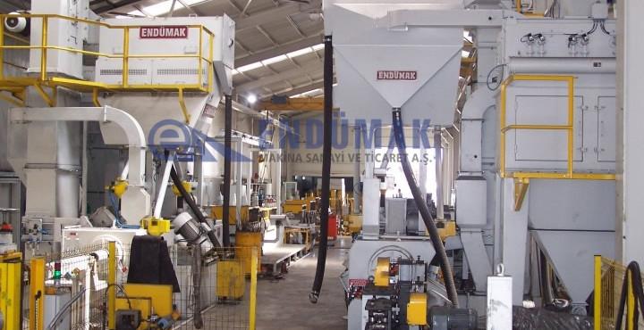 Wire Blast Cleaning Machine
