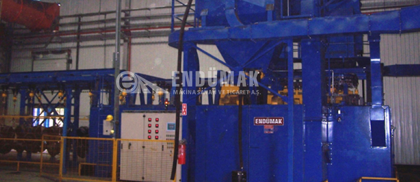 Continuous Blast Cleaning Machine
