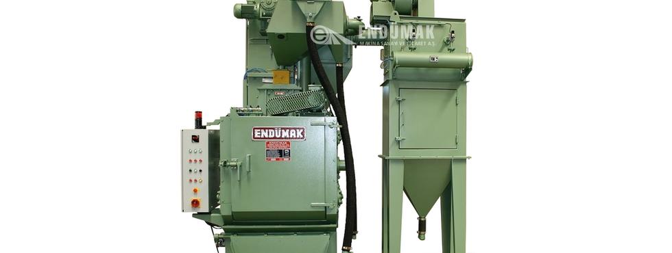 Lastik Bantlı Tamburlu Kumlama Makinesi