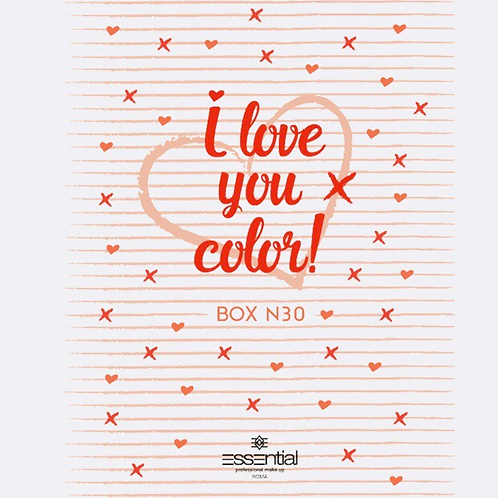 I love you color box 30