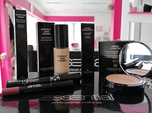 4 Coffrets ( 2 makeup / 1 soin / 1 accessoires )