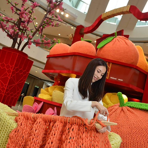 CNY Decoration for IFC Mall