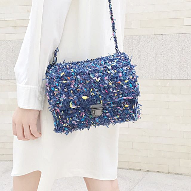 Beginner-Crochet Classic Flap Bag