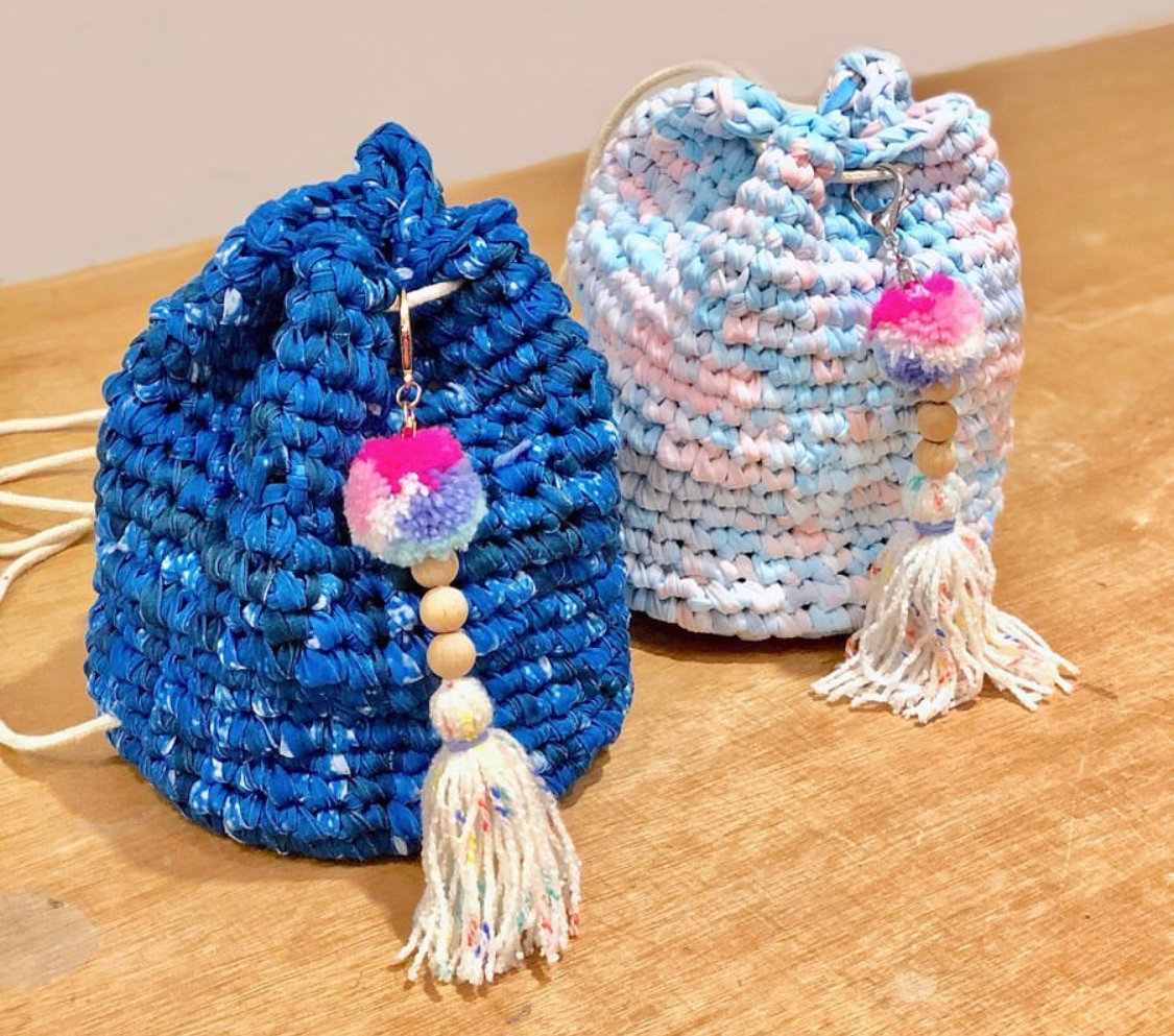Beginner- Crochet Bucket Backpack