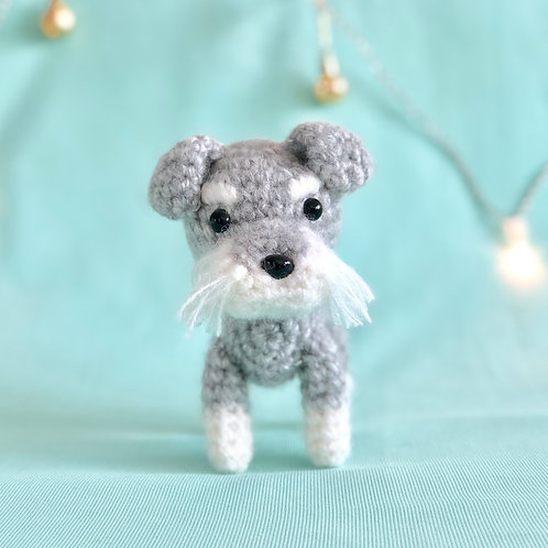 Crochet Miniature Schnauzer Puppy