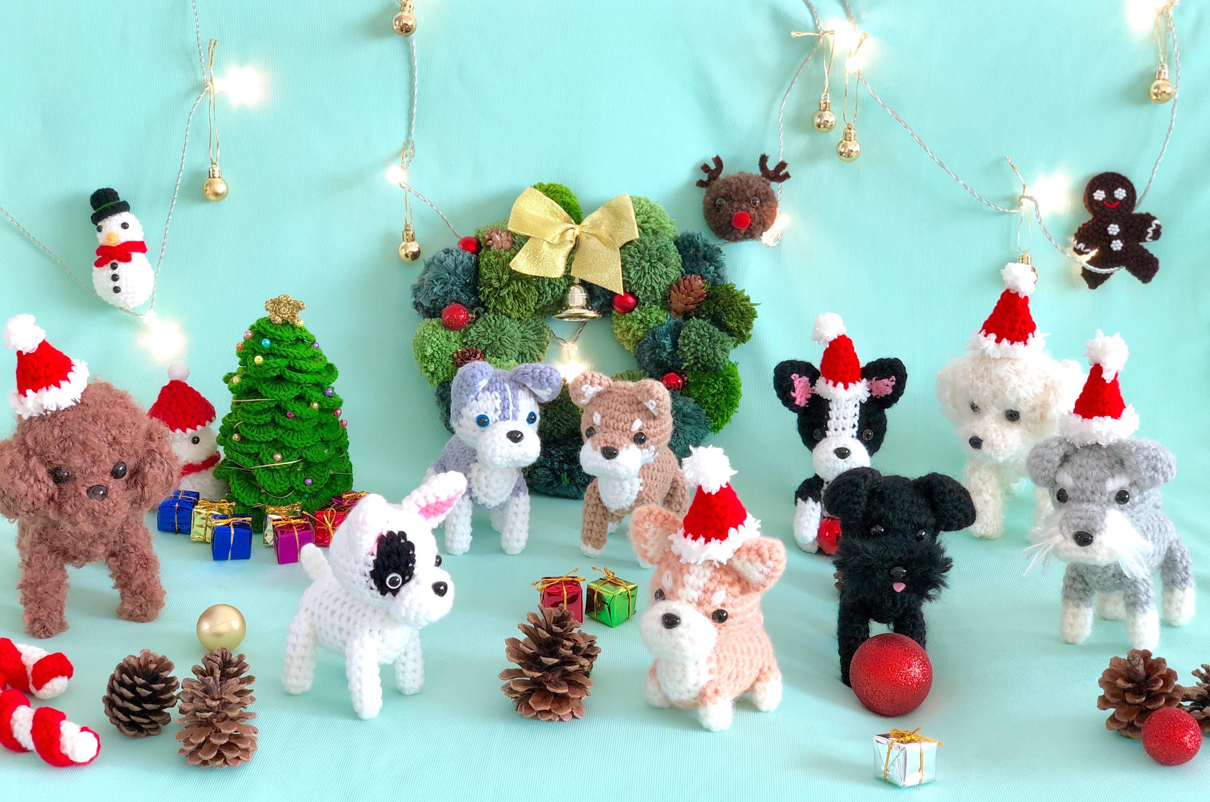 Intermediate-crochet mini puppy