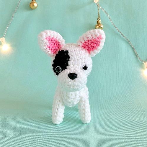 Crochet French Bulldog Puppy