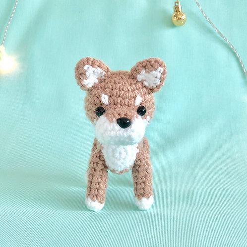 Crochet Shiba Inu Puppy