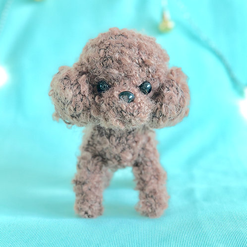 Crochet Poodle puppy