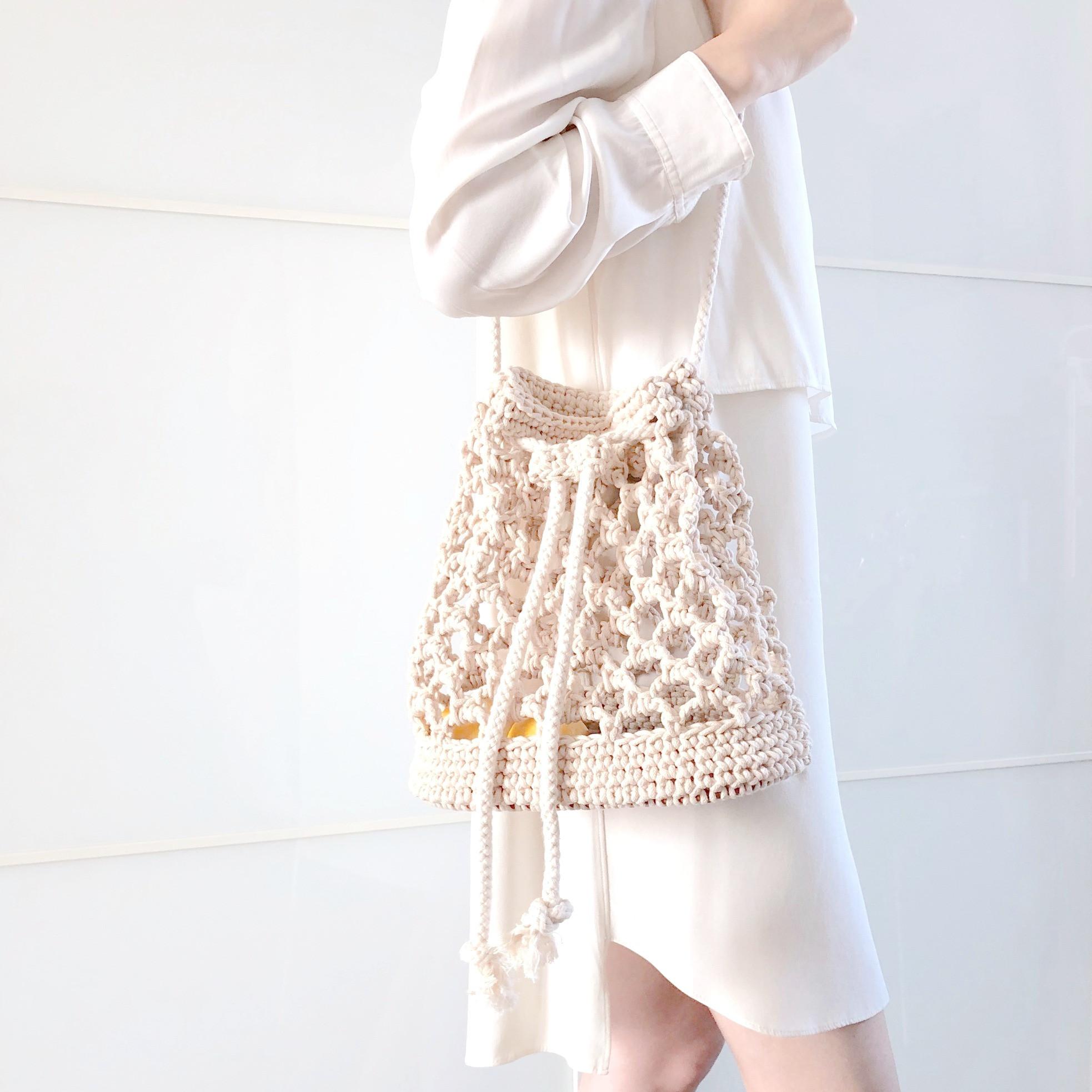 Beginner-Crochet Net Bag