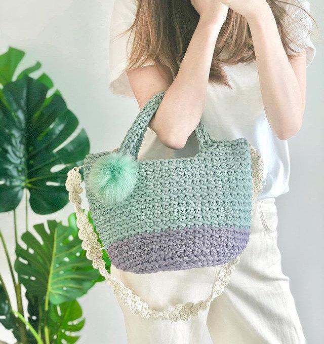 Beginner-Crochet Tote Bag