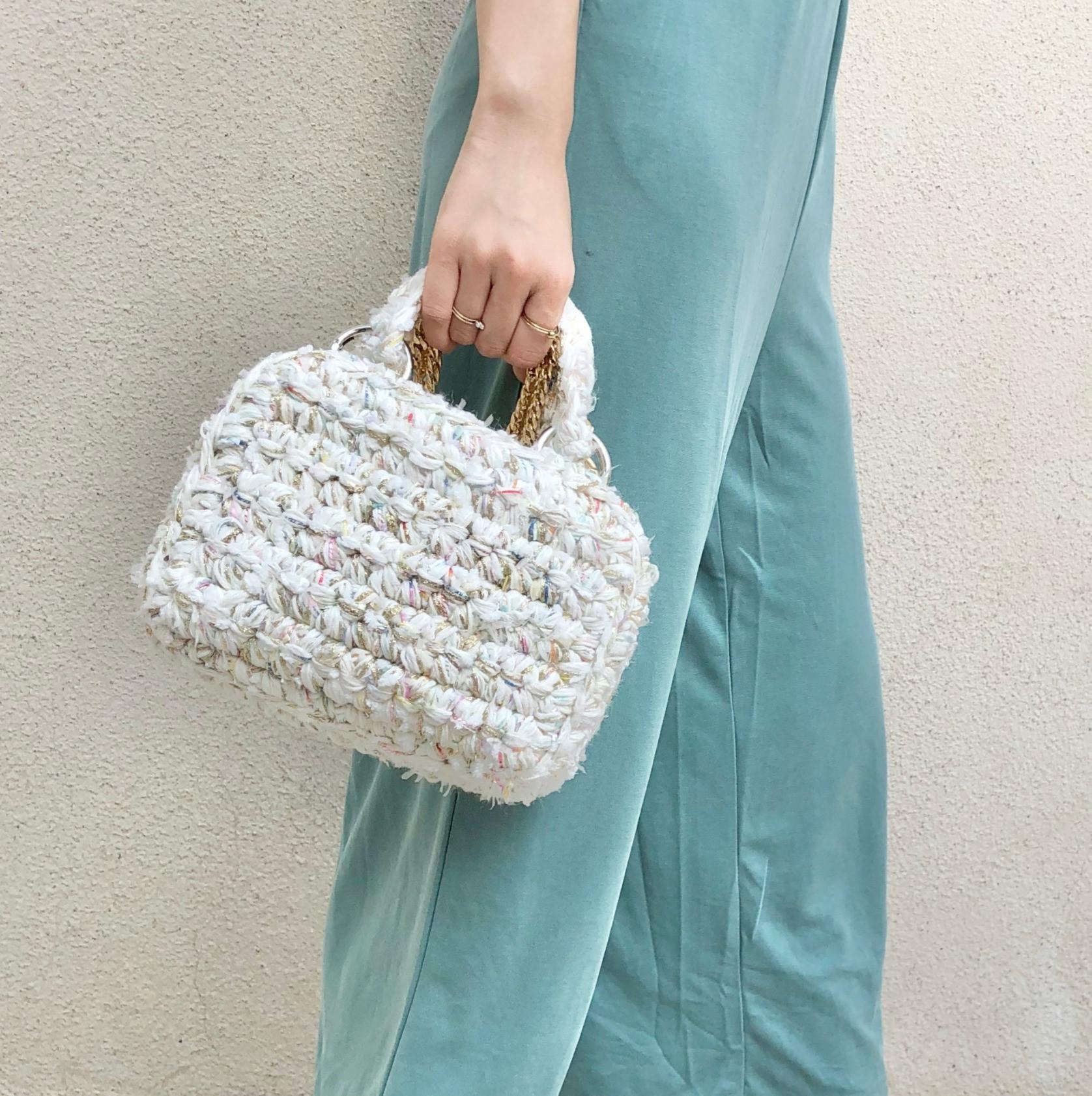 Beginner-Crochet Fancy Vanity Bag