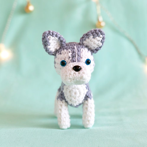 Crochet Husky Puppy