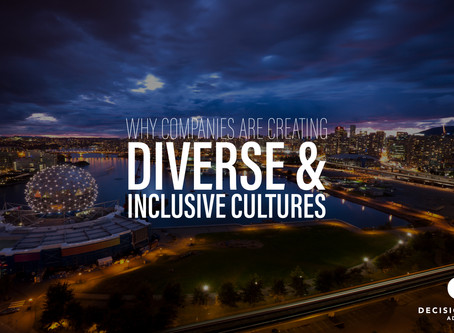 Why Companies are Creating Diverse and Inclusive Cultures