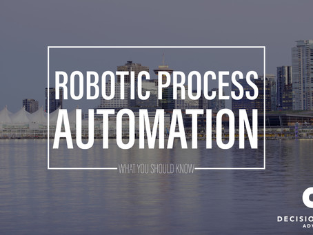 Robotic Process Automation - What You Should Know