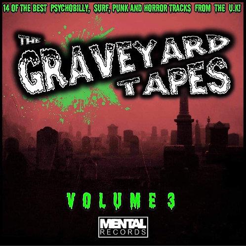 The GRAVEYARD TAPES : VOLUME 3 - RED VINYL COMPILATION LP