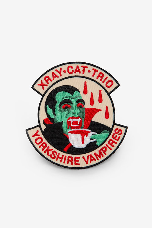 YORKSHIRE VAMPIRES Patch - by Daggers for Teeth for X Ray Cat Trio