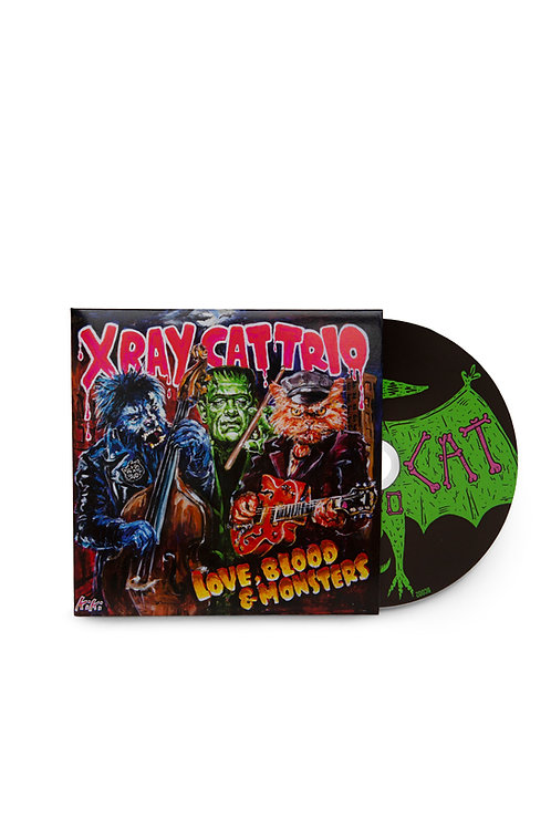 Love, Blood & Monsters 14 Track CD