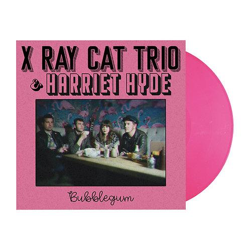 "X Ray Cat Trio & Harriet Hyde - Bubblegum EP - Pink 7"" Vinyl"