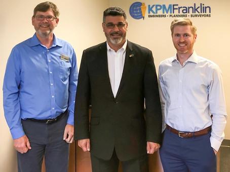 KPM Franklin Welcomes Orlando City Commissioner District 2 Tony Ortiz