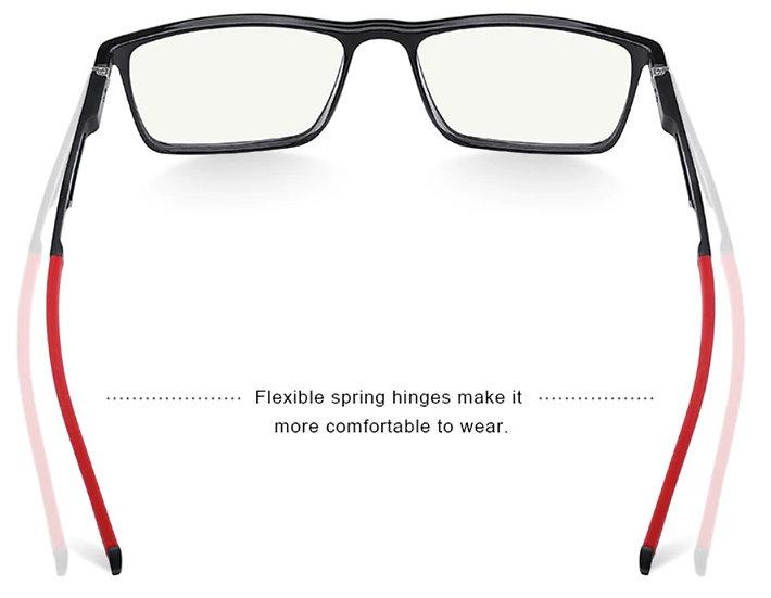 Okulary chroniące przed światłem komputera