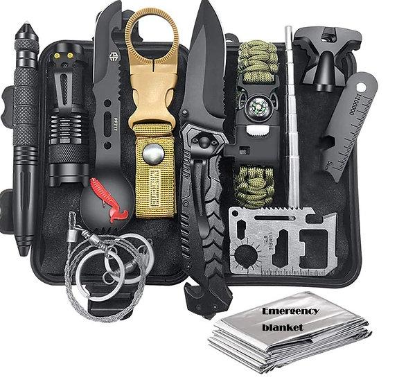 Kempingowy zestaw narzędzi