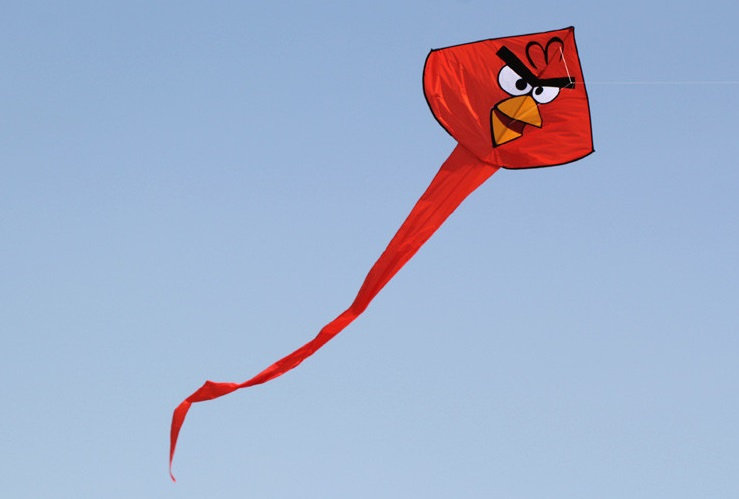 Super latawiec- angry birds