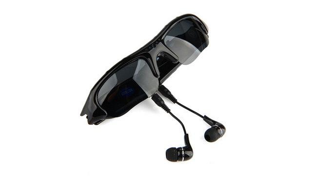 Przeciwsłoneczne okulary z kamerą