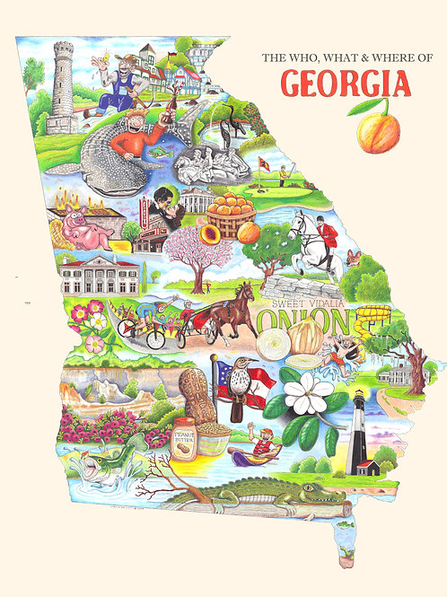 "Georgia 12""x16"""