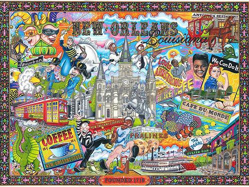 "New Orleans, Louisiana ""12 x 16"""