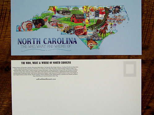 North Carolina Postcards (10 pk)