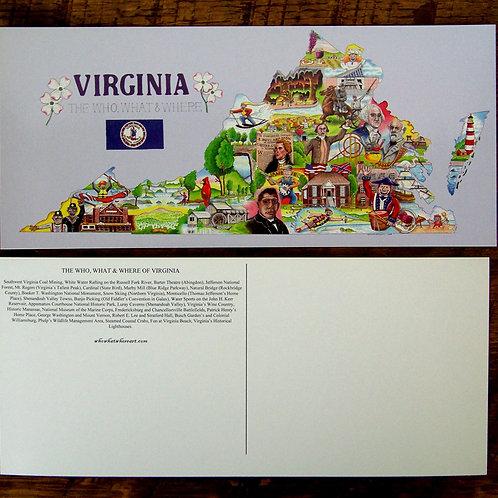 Virginia Postcards (10 pk)