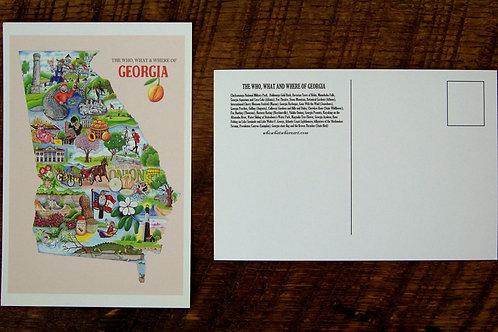 Georgia Postcard (10 pk)