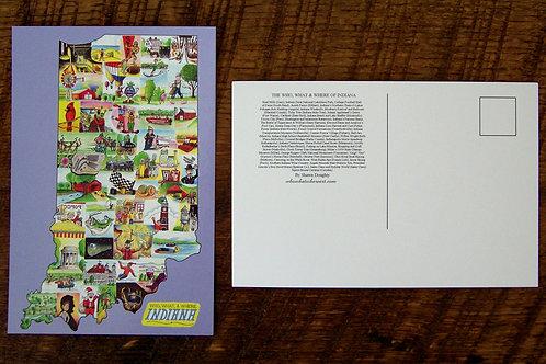 Indiana Postcard (10 pk)