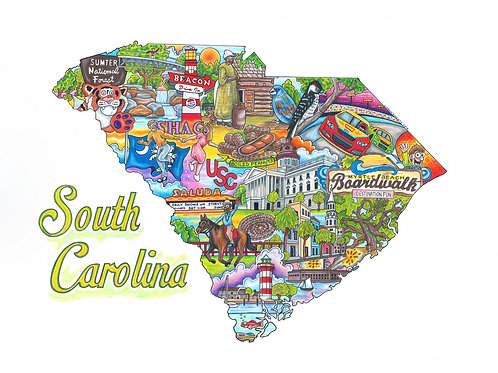The Who, What & Where of South Carolina