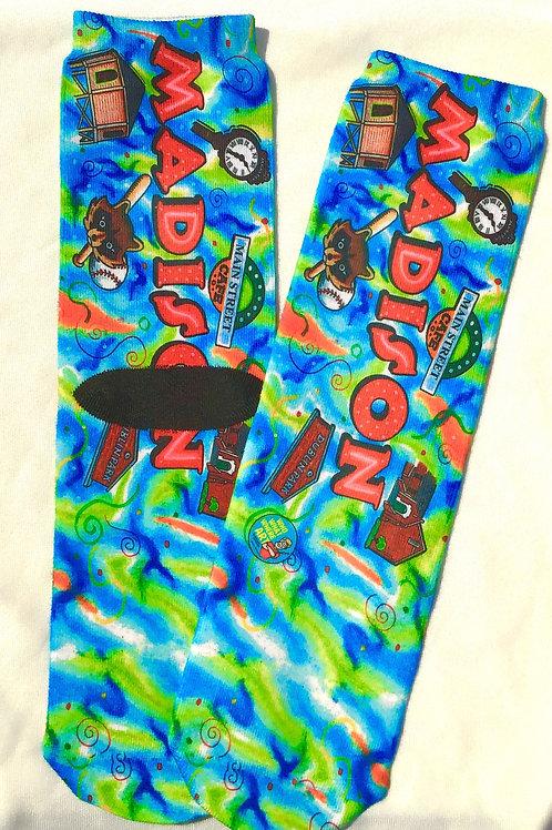 Madison,  Alabama Crazy Socks