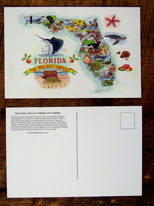 Florida Postcard (10 pk)