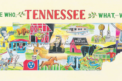 "Tennessee 9""x18"""