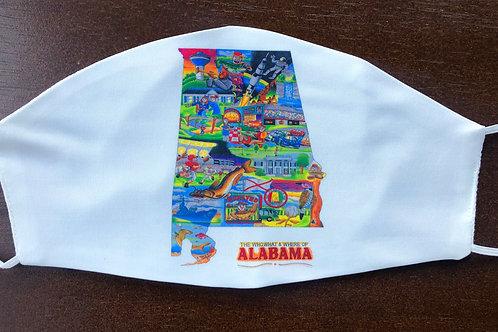 Alabama Face Mask