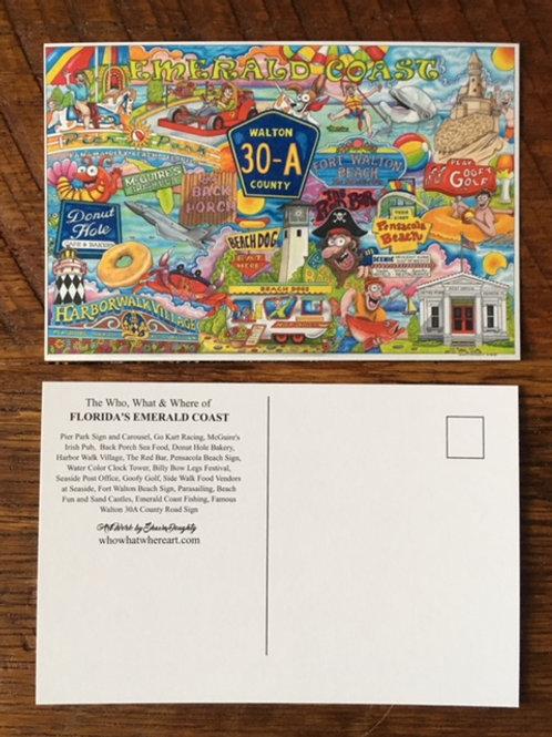 Emerald Coast Florida / 30A Postcards (10pk)