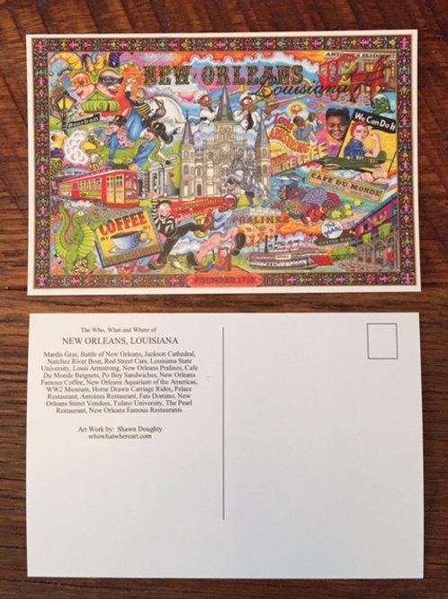 New Orleans Postcards (10pk)