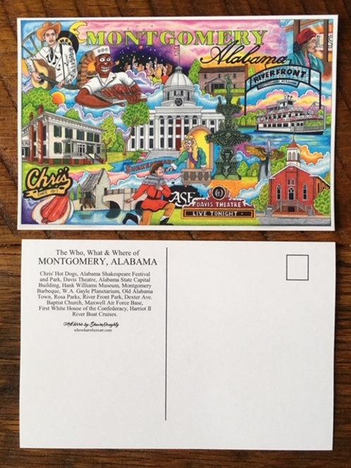 Montgomery, Alabama Postcards (12pk)